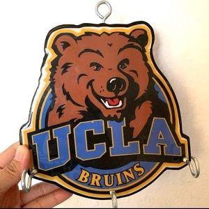 UCLA Bruins Handmade Wooden Keyring Holder Decor